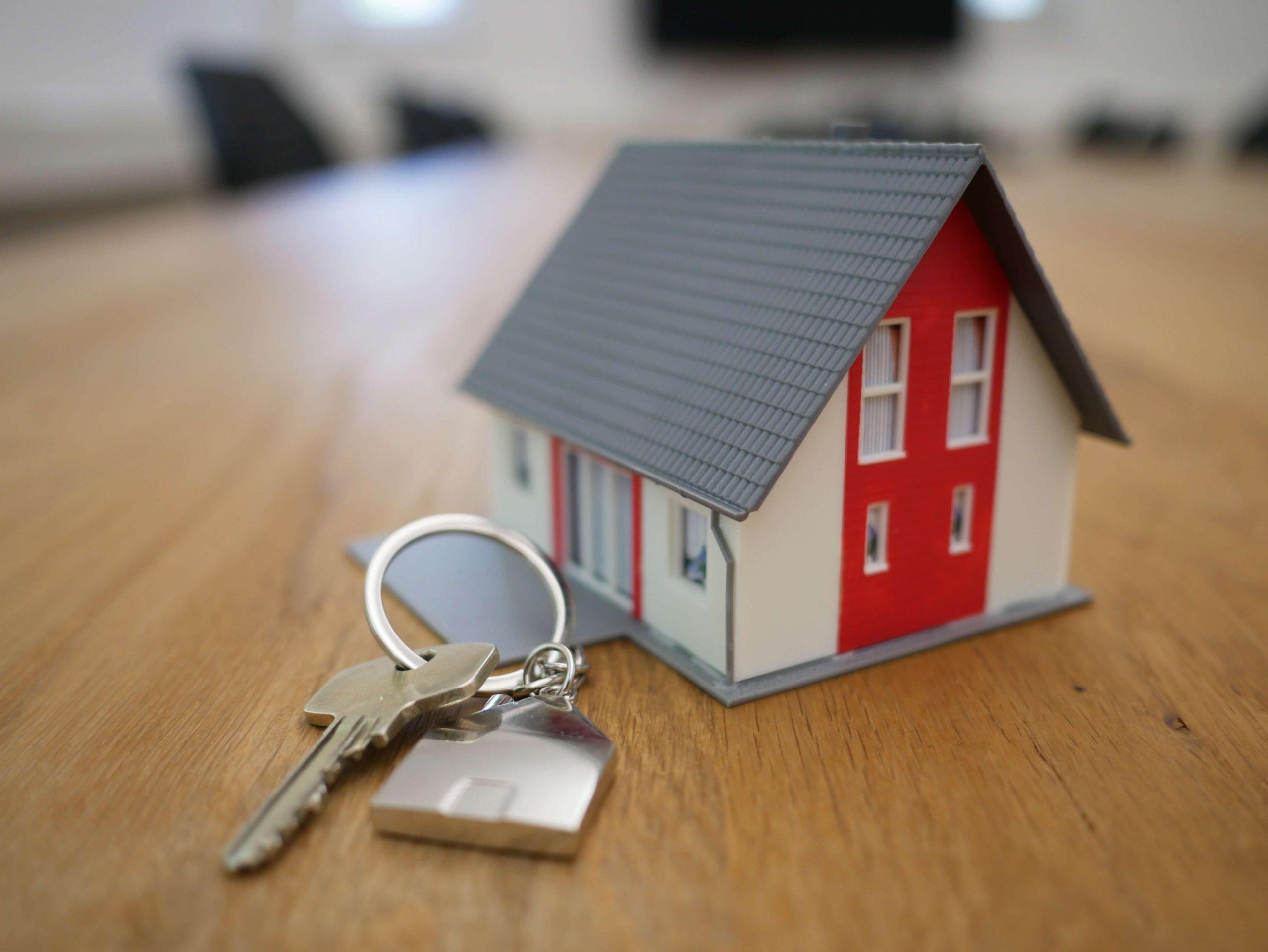 Huis met een sleutel